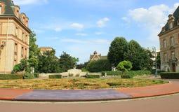 Studencki kampus - Cytuje Universitaire, w Paryż, august Obraz Stock