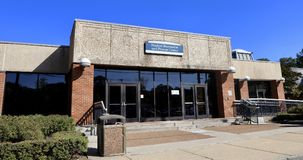 Studencki sprawności fizycznej centrum Memphis uniwersytet Zdjęcie Royalty Free