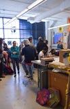 Studencki sztuki przedstawienie przy Milwaukee Obraz Stock
