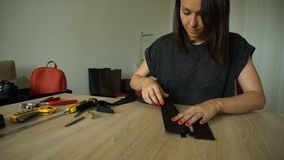 Studencki uczenie szyć suwaczek na kiesie zbiory