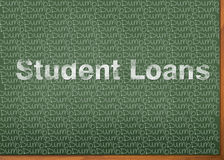 Studenckie pożyczki są Nieme royalty ilustracja