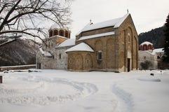 Studenica kloster royaltyfri bild