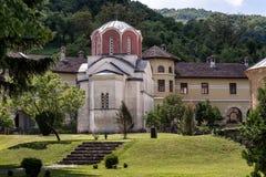 Studenica Kloster, Serbien Stockfotografie