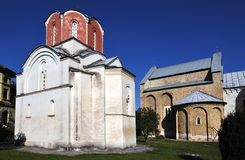 Studenica Monastery Royalty Free Stock Images
