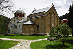 Studenica Monastery Stock Photo