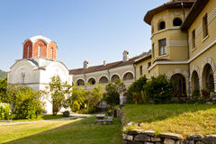 Studenica Monastery - Serbia. Royalty Free Stock Photography