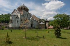 Studenica monastery, 12th-century Serbian orthodox monastery loc. Ated near city of Kraljevo Stock Photography