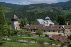 Studenica monastery, 12th-century Serbian orthodox monastery located near city of Kraljevo stock photography