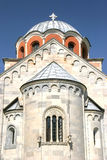 Studenica, Serbia. Detail from Studenica monastery in Serbia Royalty Free Stock Images