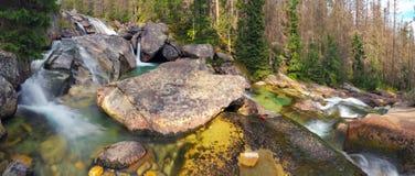 Studenovodke Waterfall - Slovakia Royalty Free Stock Photography