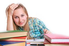 Student . Royalty Free Stock Image