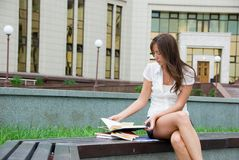 Student royalty-vrije stock afbeelding