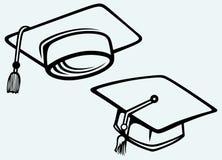 Student accessories. Graduation cap Stock Image