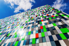 Student accommodation building at the university campus in Utrecht, Netherlands Royalty Free Stock Image