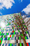 Student accommodation building at the university campus in Utrecht, Netherlands Stock Photos