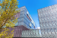 Student accommodation building at the university campus in Utrecht, Netherlands Stock Photo