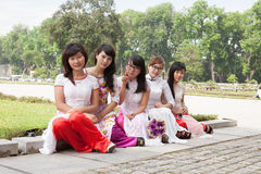 Student Asia Royaltyfri Fotografi