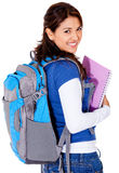 Student with a backpack Stock Photos