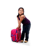 Student with bag Stock Photography