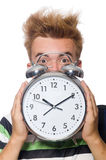 Student being late Stock Photography