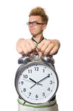 Student being late Royalty Free Stock Image