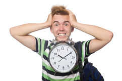 Student being late Stock Photos