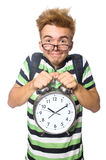 Student being late Royalty Free Stock Images