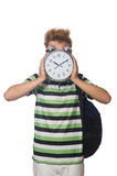 Student being late Royalty Free Stock Photo