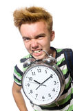 Student being late Royalty Free Stock Photography