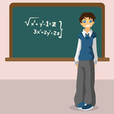 Student blackboard vector Stock Images