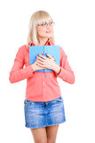 Student with book Stock Photo