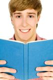 Student with book Royalty Free Stock Images