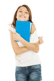 Student with book Royalty Free Stock Photography