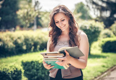 Student with a book Stock Photography