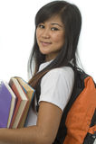 Student with books 2 Royalty Free Stock Photography