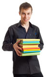 Student with books. Royalty Free Stock Photography