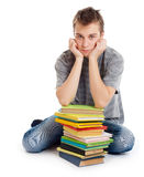 Student with books. Stock Image
