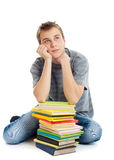 Student with books. Stock Photo