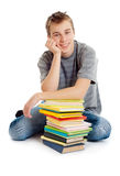 Student with books. Royalty Free Stock Photo