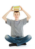 Student with books. Royalty Free Stock Images