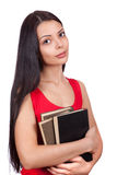 A student with books Royalty Free Stock Photos