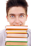 Student with the Books Royalty Free Stock Image