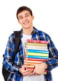 Student with the Books Royalty Free Stock Photo