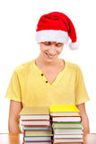 Student with a Books Stock Images