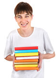 Student with a Books Stock Photos