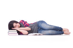 Student with books Stock Photography