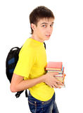 Student with the Books Royalty Free Stock Images
