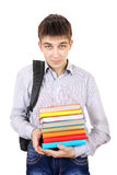 Student with a Books Royalty Free Stock Photography