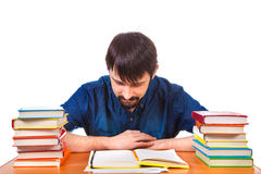 Student with a Books Royalty Free Stock Images