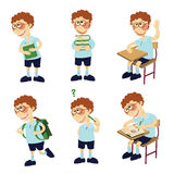 Student boy Stock Photos